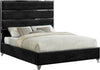 Zuma Black Velvet King Bed image