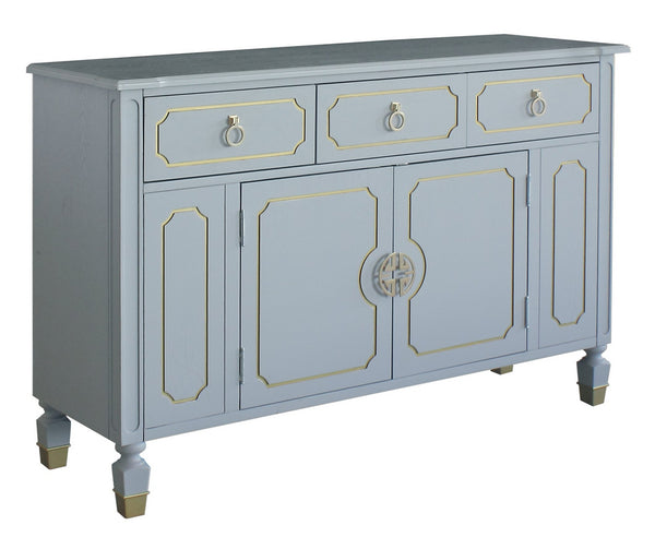 Acme Furniture House Marchese Dresser in Pearl Gray 28865 image