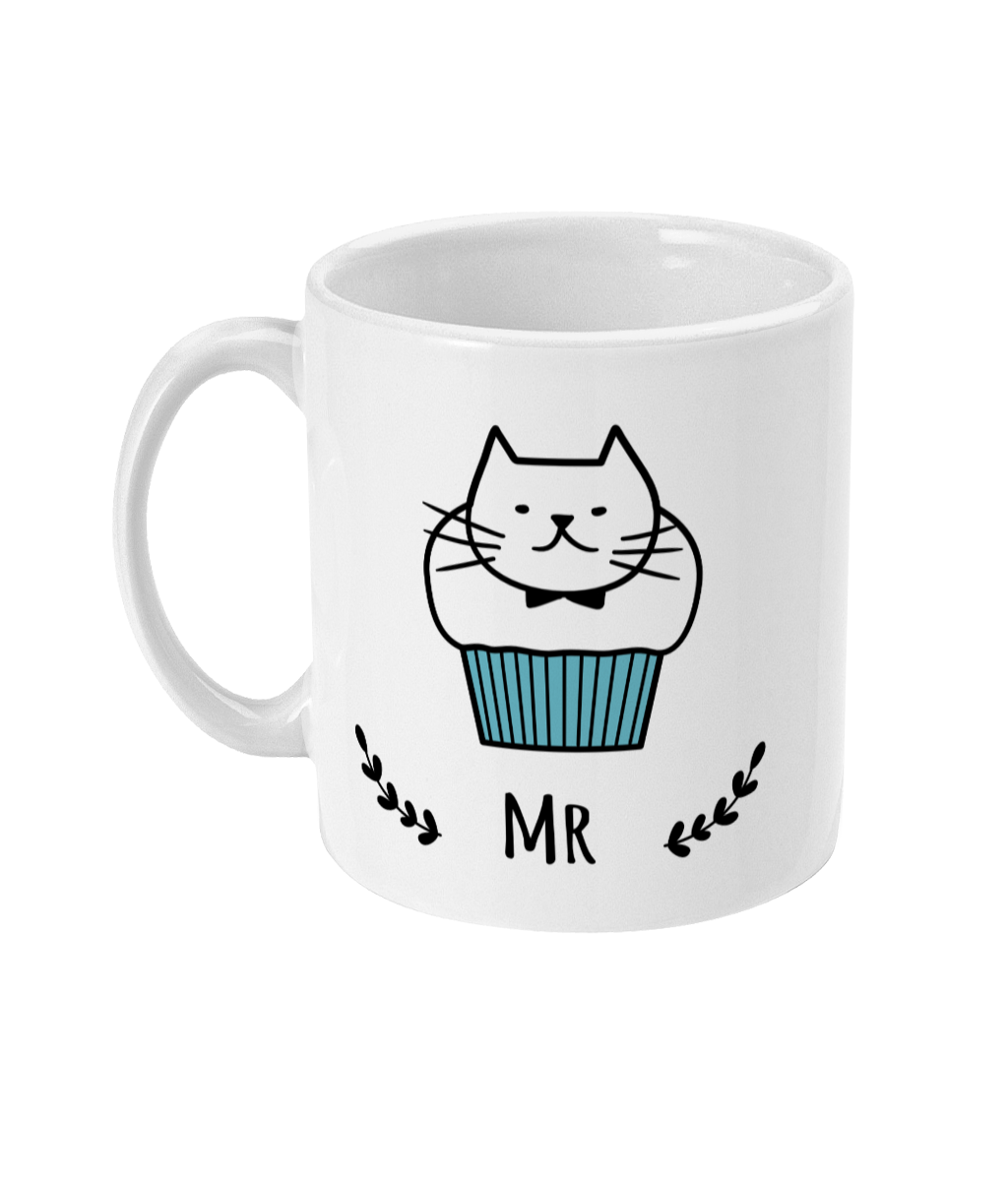 11oz Ceramic Mug Mr Cat Muffin
