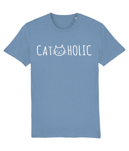 Unisex Organic Cotton T-Shirt Cat-holic