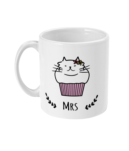 11oz Ceramic Mug Mrs Cat Muffin
