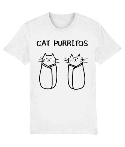 Unisex Organic Cotton T-Shirt Cat Purrito