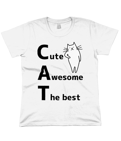 Organic Cotton Women's T-Shirt CAT large