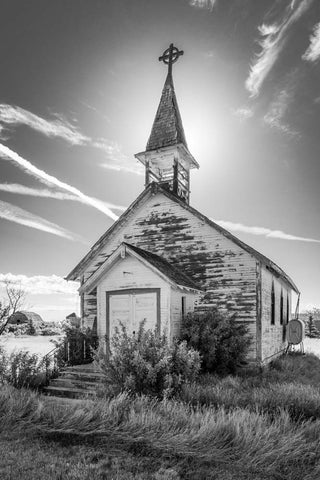 Church Facade, Frontier, Saskatchewan 2012