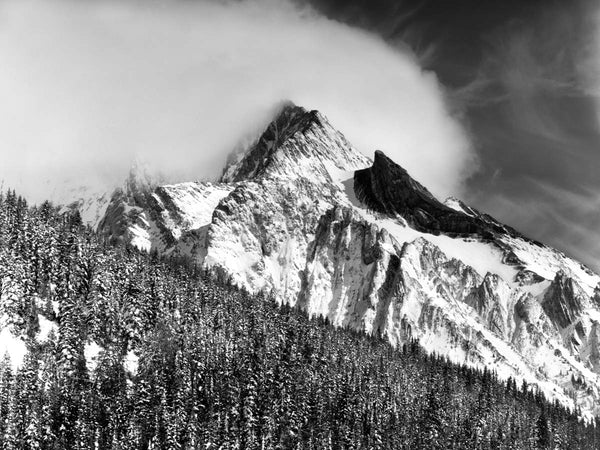 Snow Squall, Storm Mountain, 2007