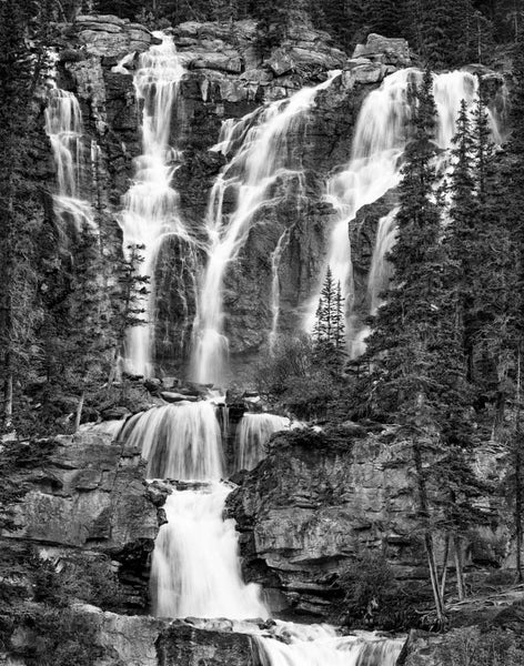 Tangle Falls, Icefields Parkway, 2007