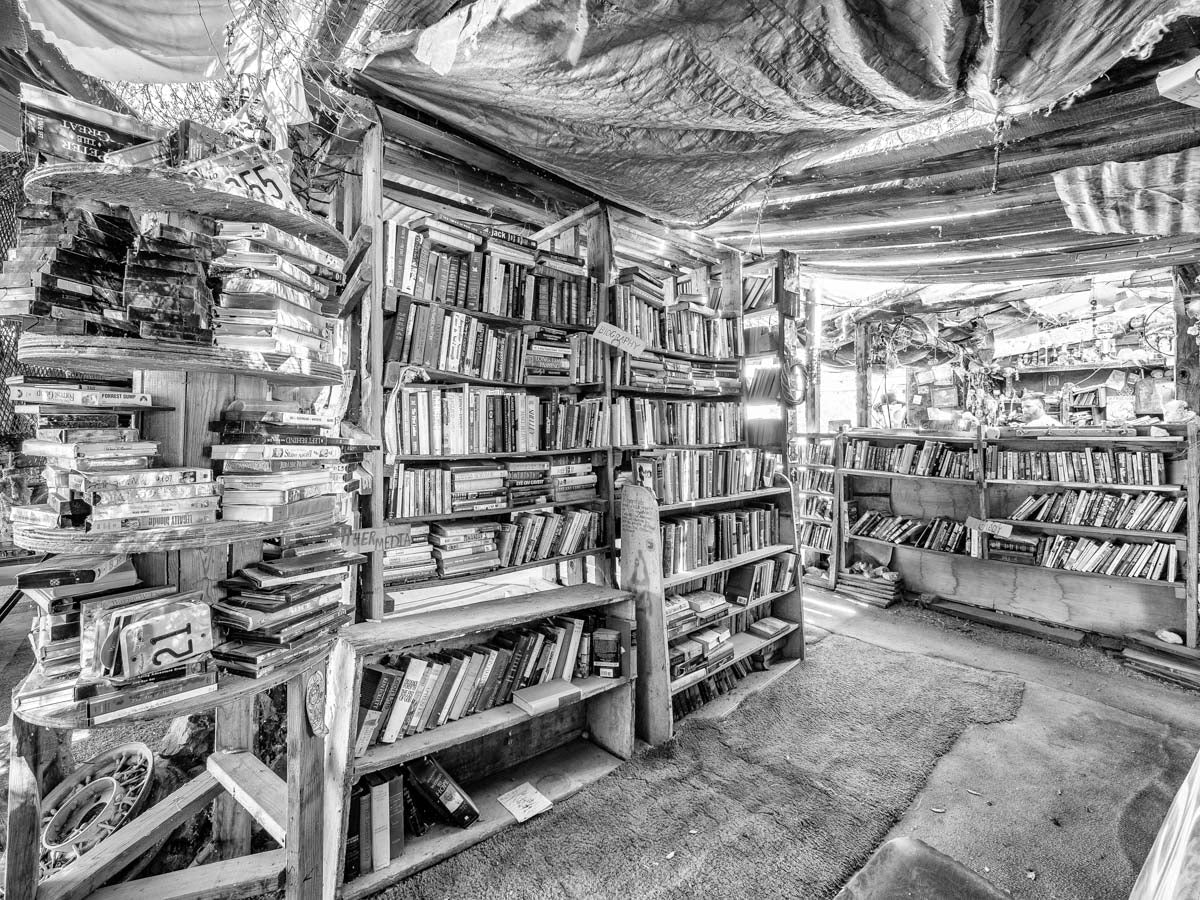 Slab City Library #2, Salton Sea