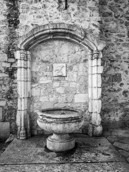 Fountain, Castle de Sao Jorge, Lisbon