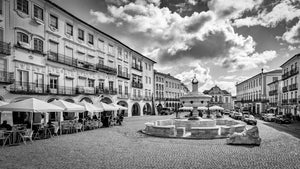 Old Town, Main Square, Evora, Portugal