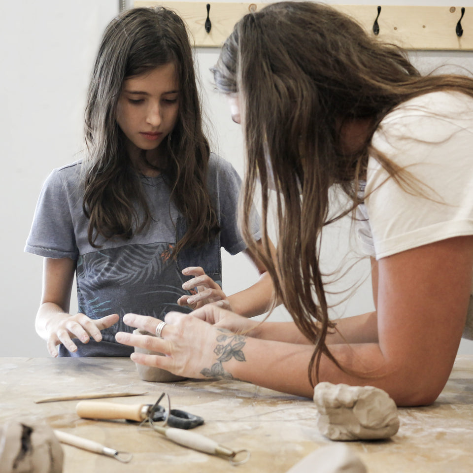 KID'S CERAMIC WORKSHOPS (AGE 7-10 AND 11-13)
