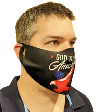 Load image into Gallery viewer, B-Mask God Bless America Face Mask