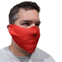 Load image into Gallery viewer, B-Mask Red Face Mask