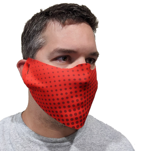 B-Mask Red Face Mask