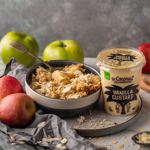 Vegan Almond and Apple Crumble