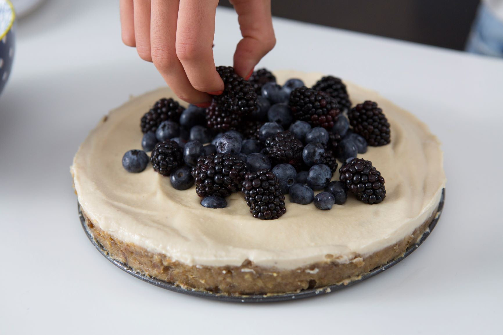 Raw Vanilla Cheesecake