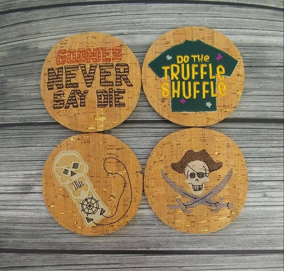Goonies Themed Coasters