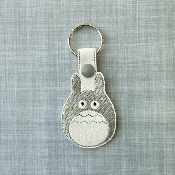 Friendly Neighbor Vinyl Keychain