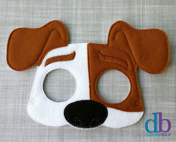 Max the Dog Felt Play Mask