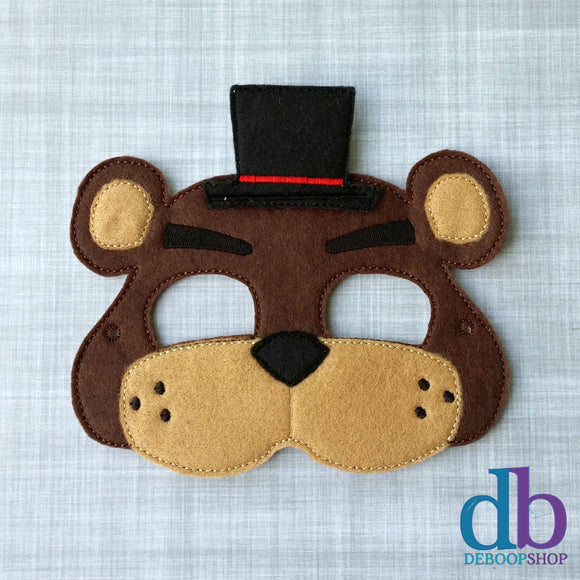 Fred Bear Mask - FNAF Mask