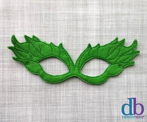Poison Ivy Felt Play Mask