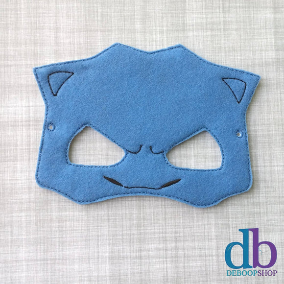 Tank Turtle Felt Play Mask