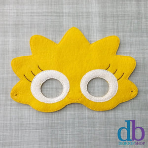 Lisa Girl Felt Play Mask