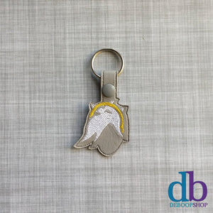 Game Angel Vinyl Keychain