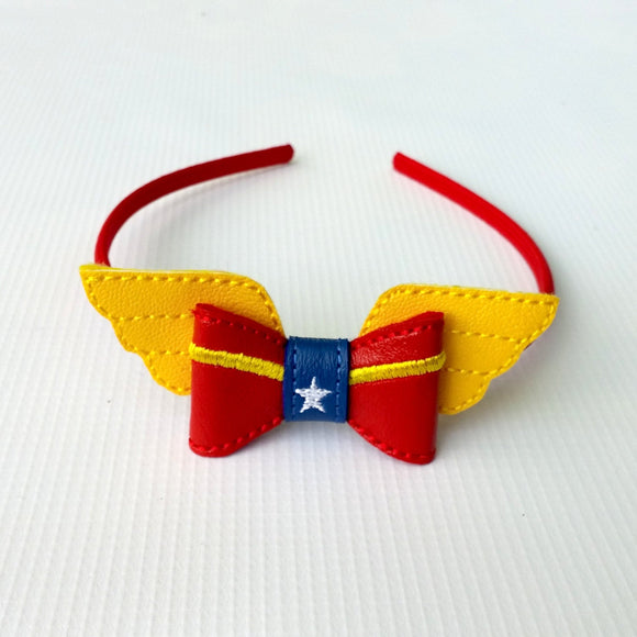 Wonder Hero Hair Bow