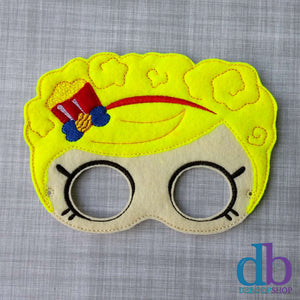 Shopping Poppette Felt Play Mask