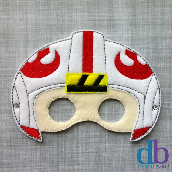 Rebel Fighter Felt Play Mask