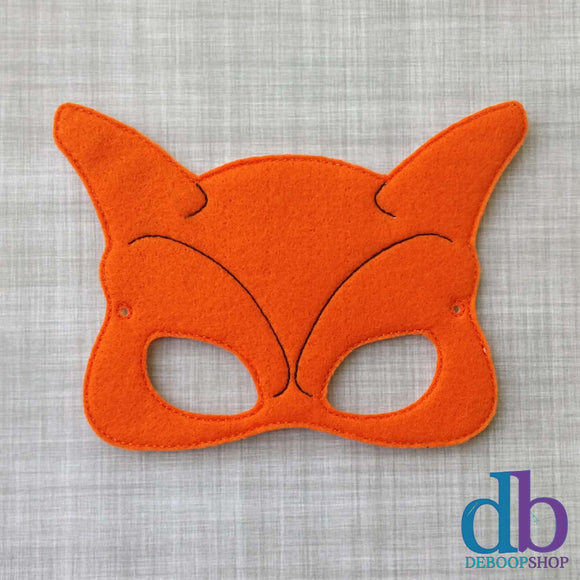Char Dragon Felt Play Mask