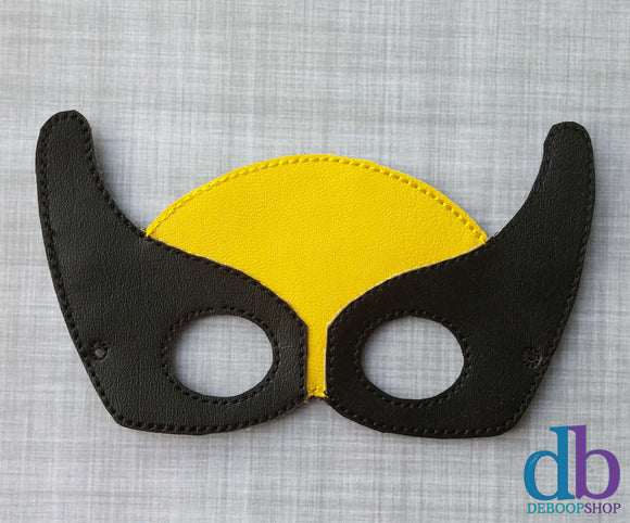 Wolverine Hero Vinyl Play Mask