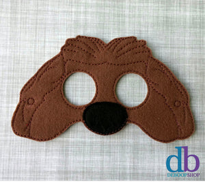 Duke the Dog Felt Play Mask
