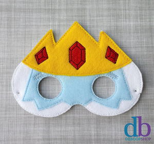Ice King Felt Play Mask