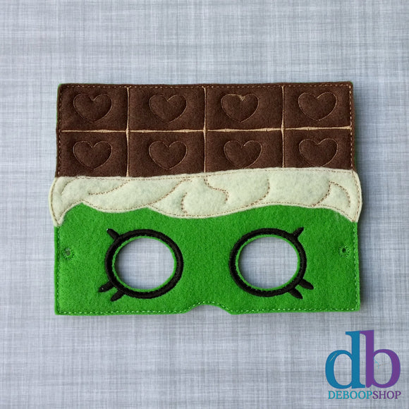 Candy Bar Felt Play Mask