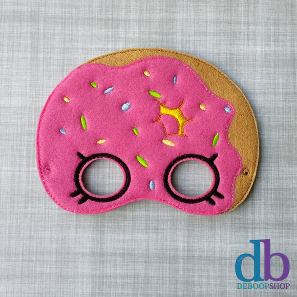 Donut Felt Play Mask