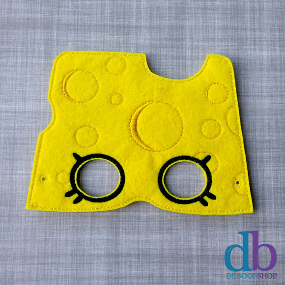 Cheese Felt Play Mask
