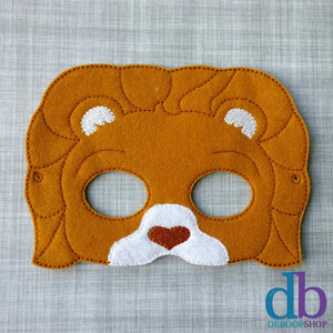 Lion Heart Felt Play Mask