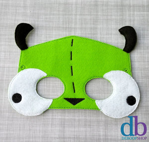 Mongoose Dog Felt Play Mask