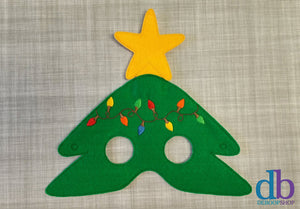 Christmas Tree Felt Play Mask