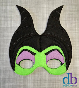 Sleeping Villain Felt Play Mask