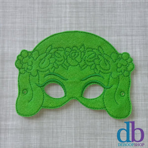 Island Goddess Felt Play Mask