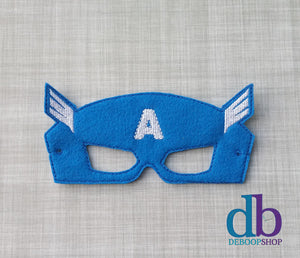 Captain America Felt Play Mask
