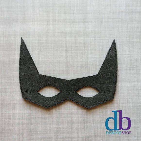 Bat Hero Vinyl Play Mask from DeBoop Shop