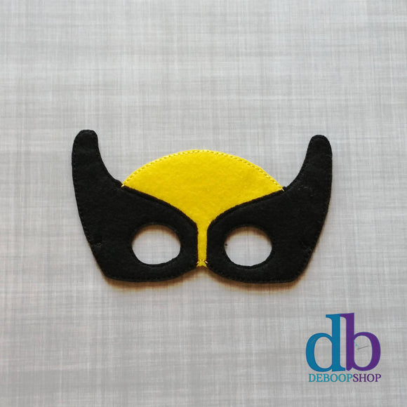 Wolverine Hero Felt Play Mask