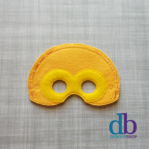 C3PO Droid Felt Play Mask