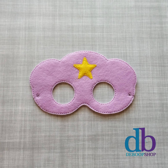 Lumpy Space Princess Felt Play Mask