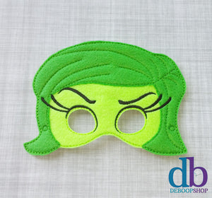 Inside Disgust Felt Play Mask
