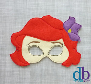Mermaid Princess Felt Play Mask