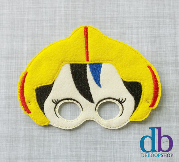 GoGo Hero Felt Play Mask